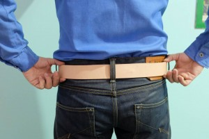 Max4Denim Leather Belt