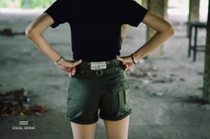 Denim Shorts Handmade 100%