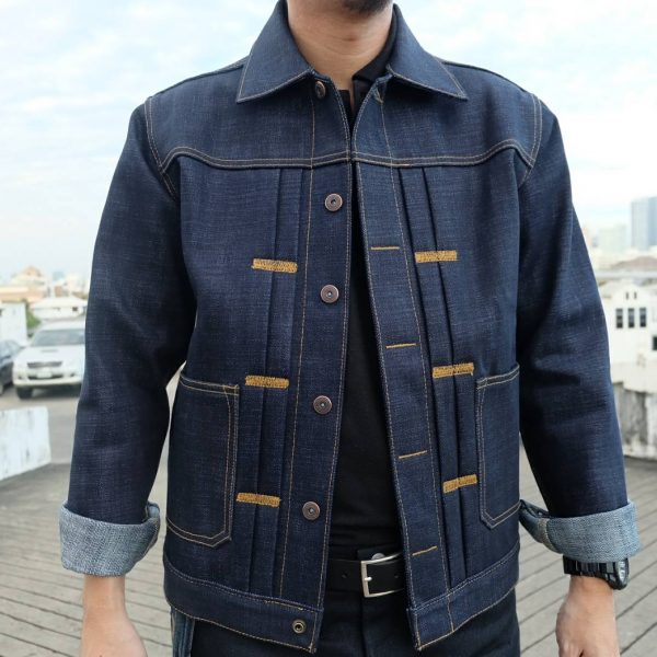 Blue Skin Jacket by Rungarn Denim